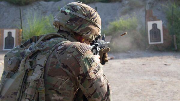 Un soldat de l'armée américaine (image d'illustration) - Sputnik France