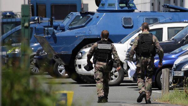 Des gendarmes au Lardin-Saint-Lazare, le 31 mai 2021 - Sputnik France