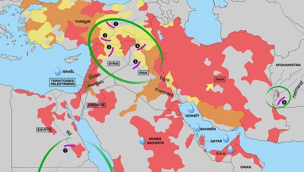 L'eau au Moyen-Orient, source de conflits et d'inégalités face aux pénuries - Sputnik France