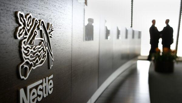 Le géant Nestlé - Sputnik France