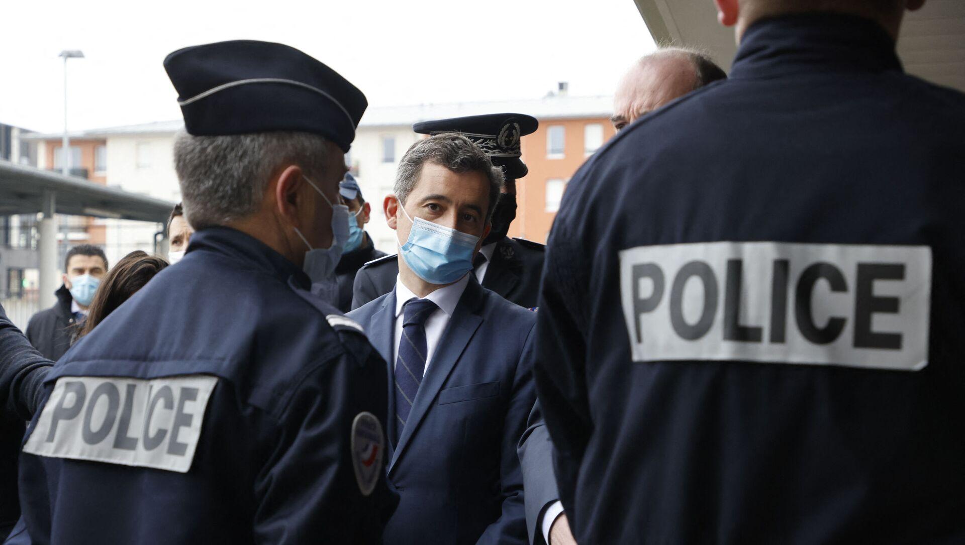Dans un courrier transmis ce 7 septembre aux préfets, Gérald Darmanin en appelle à la «vigilance dans le cadre de l'ouverture du procès des attentats» tant vis-à-vis de la «menace endogène qu'exogène». «La menace terroriste est très forte», prévient le ministre de l'Intérieur. - Sputnik France, 1920, 17.07.2021