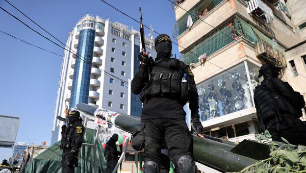 Soldats du Hamas - Sputnik France