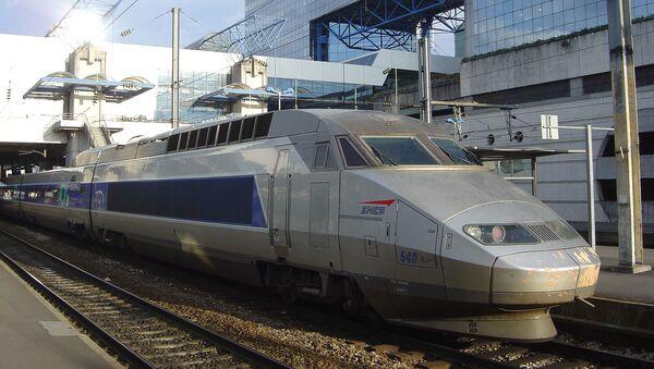 TGV en gare de Rennes - Sputnik France