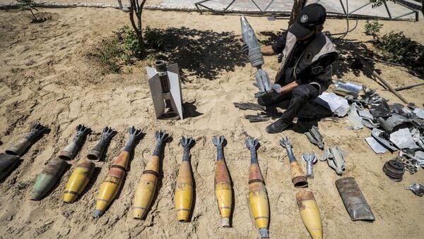 Неразорвавшиеся снаряды после конфликта с Израилем в секторе Газа - Sputnik France