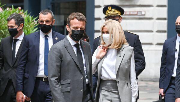 Emmanuel et Brigitte Macron - Sputnik France