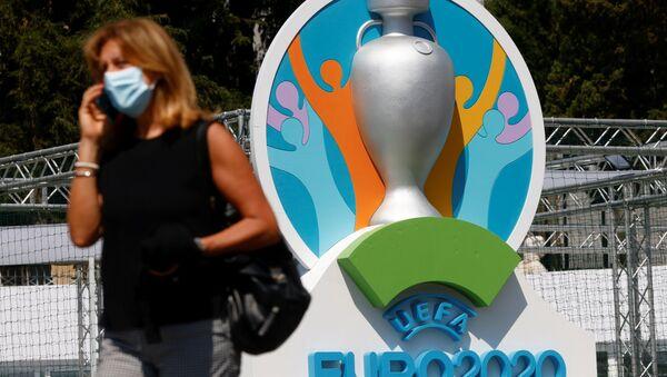 Logo de l'Euro 2020 de football (archive photo) - Sputnik France