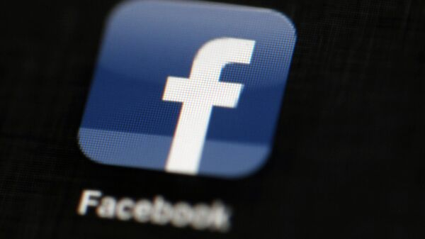 Logo de Facebook - Sputnik France