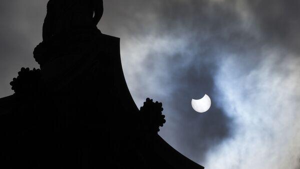 Première éclipse solaire de 2021   - Sputnik France
