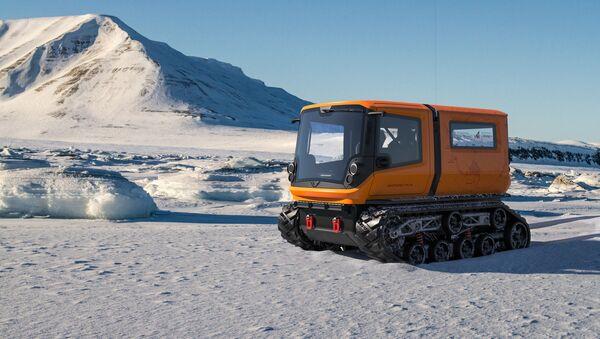 Antarctica, l'engin d'exploration polaire zéro émission  - Sputnik France