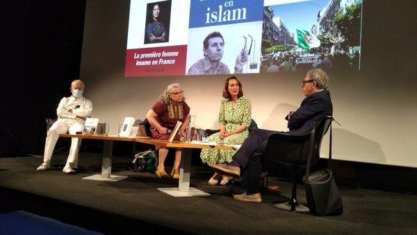 Kahina Bahloul à Tunis, le 7 juin 2021 - Sputnik France