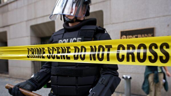 Un policier à Pittsburgh, en Pennsylvanie - Sputnik France
