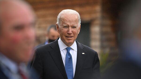 Joe Biden au sommet du G7 en Cornouailles, 11 juin 2021 - Sputnik France
