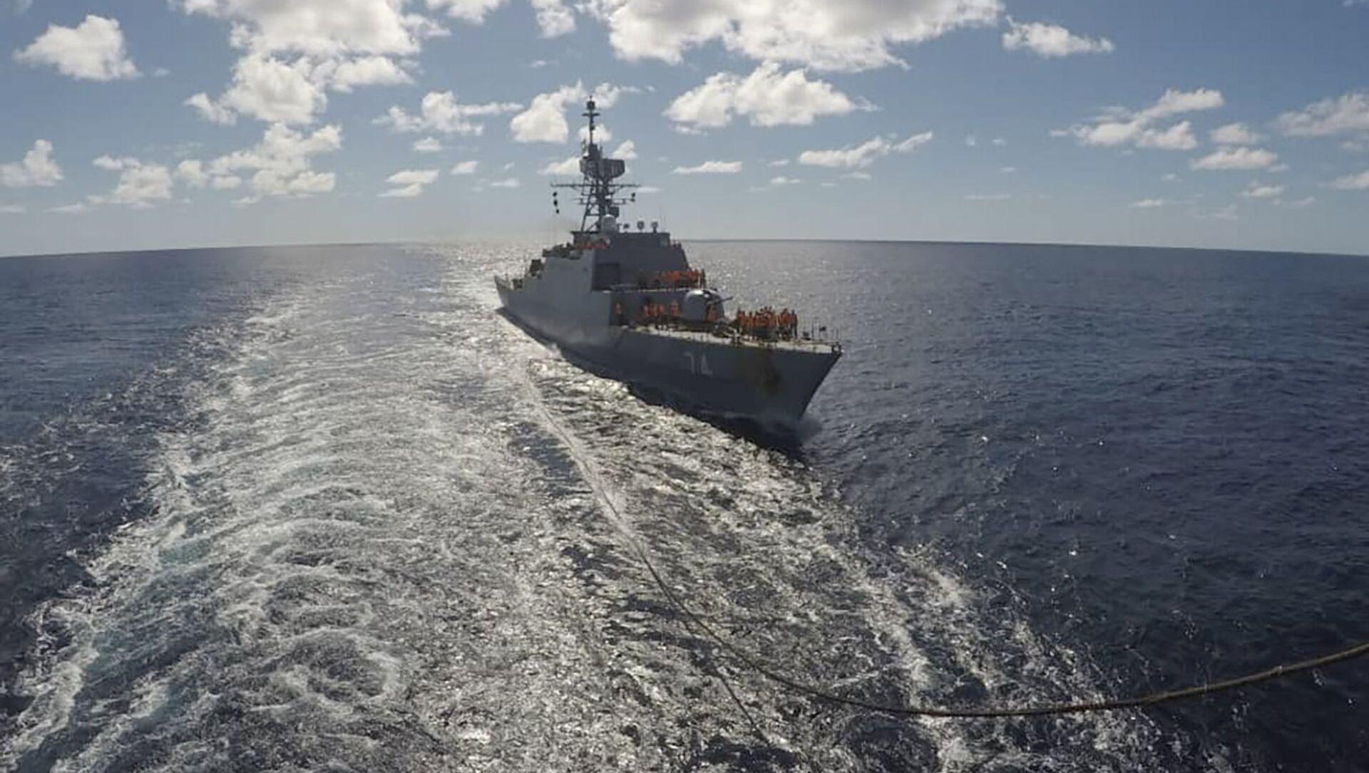 Un navire iranien entre dans l'océan Atlantique, le 10 juin 2021 - Sputnik France, 1920, 26.06.2021