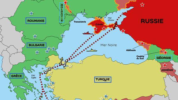 Mer Noire : c'est en Turquie que se joue l'encerclement américain de la Russie - Sputnik France