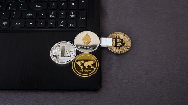 Cryptomonnaies (image d'illustration) - Sputnik France