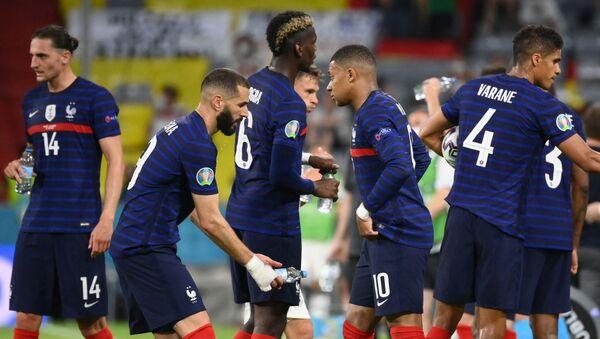 Les Bleus, lors du match avec l'équipe d'Allemagne, lors de l'Euro 2020 - Sputnik France