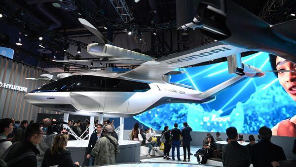 Un S-A1, prototype d'un taxi volant de Hyundai et Uber - Sputnik France