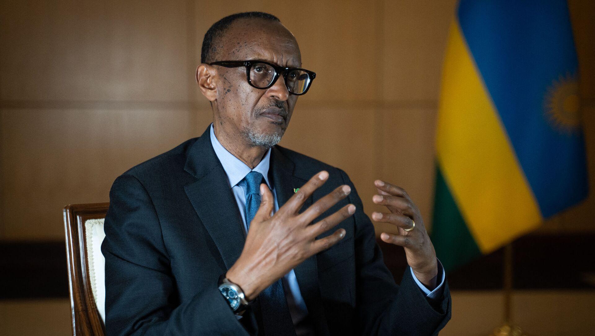 Paul Kagame, président rwandais, 2021. - Sputnik France, 1920, 11.08.2021