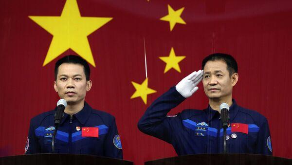 Les taïkonautes qui construiront la station spatiale chinoise  - Sputnik France