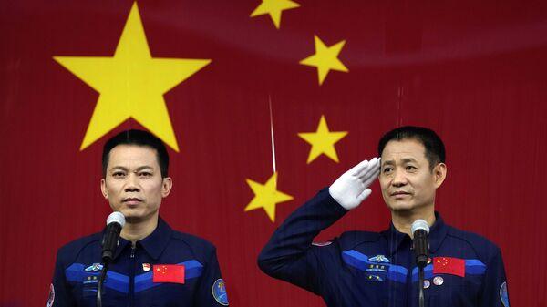 Astronautes chinois. conférence de presse - Sputnik France