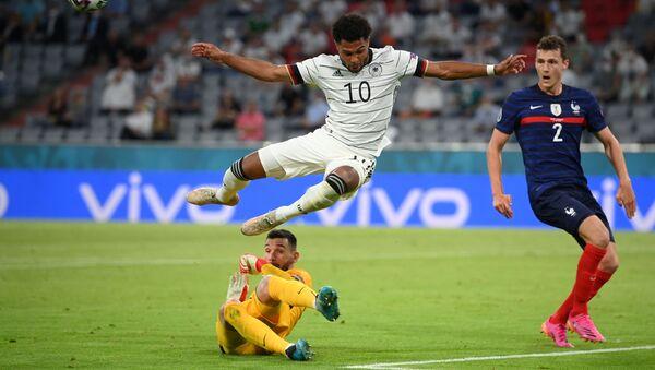Euro 2020: images saisissantes du match Allemagne-France  - Sputnik France