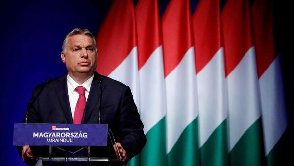 Viktor Orban à Budapest en juin 2021 - Sputnik France