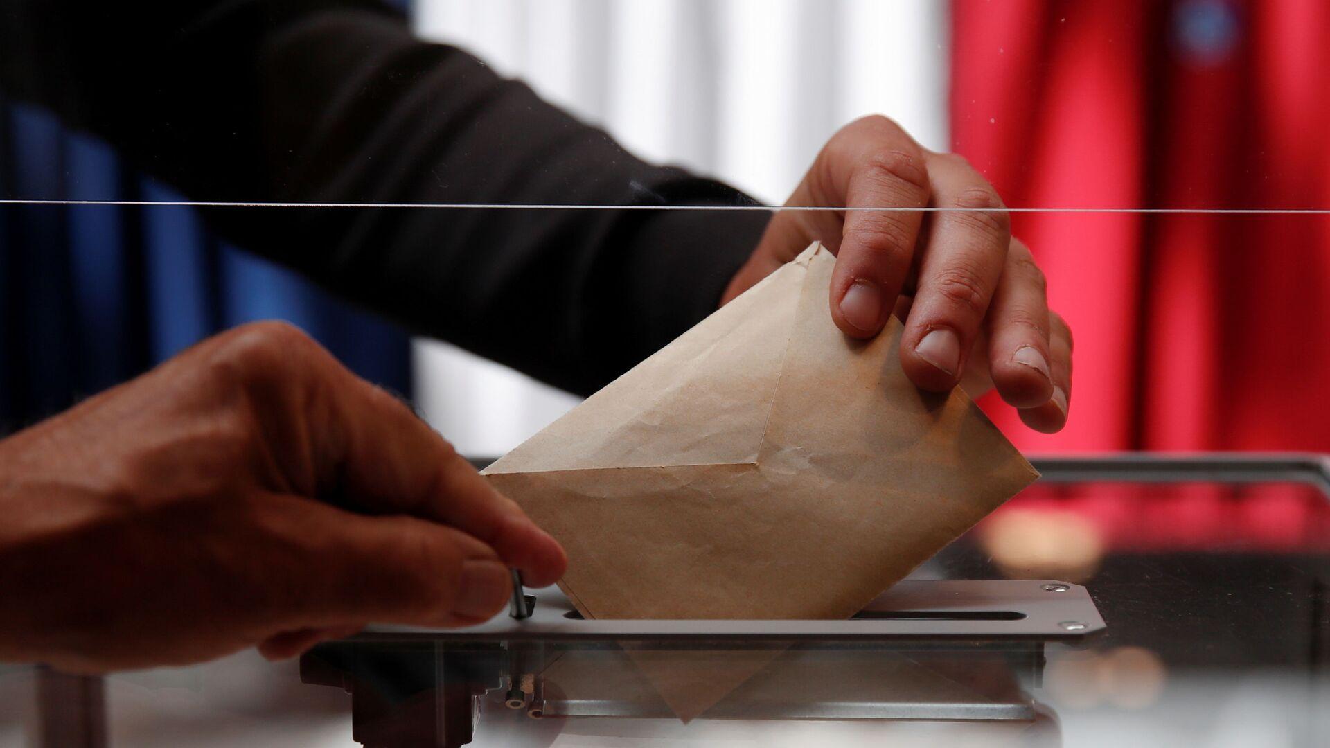 Élections régionales et départementales 2021 en France - Sputnik France, 1920, 28.06.2021