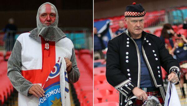 Costumes nationaux des supporters de l'Euro 2020  - Sputnik France