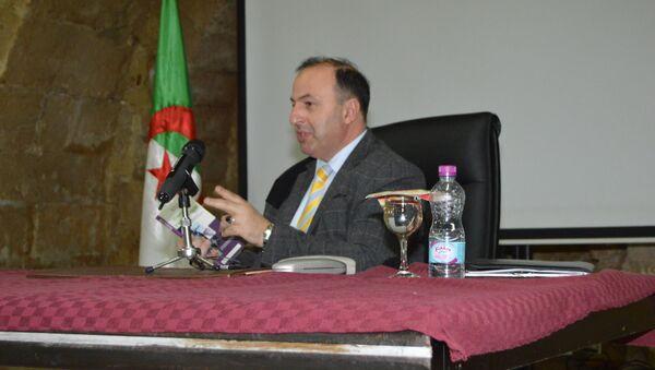 Le Dr Fardi Benyahia - Sputnik France