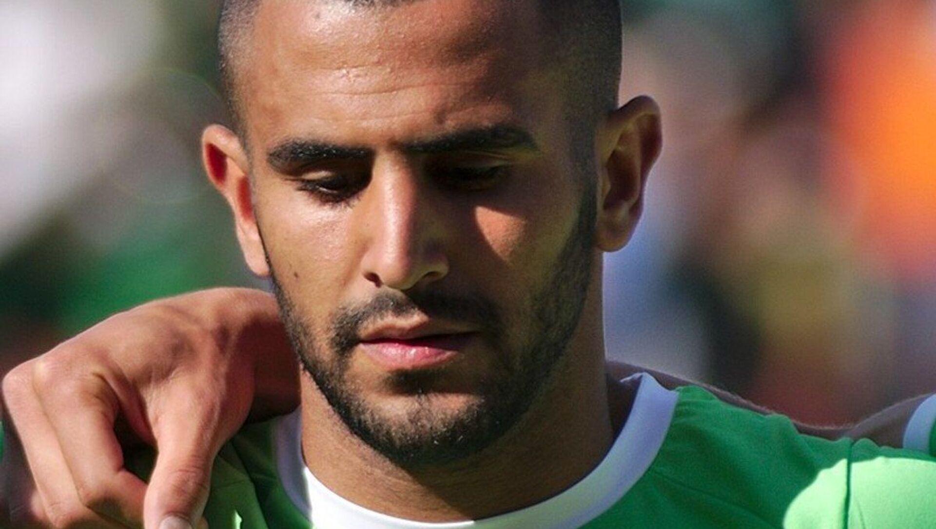 Riyad Mahrez, footballeur international algérien  - Sputnik France, 1920, 22.06.2021