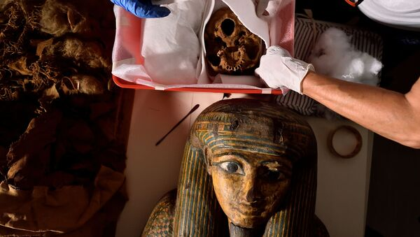 Que cache une momie égyptienne en Italie? - Sputnik France