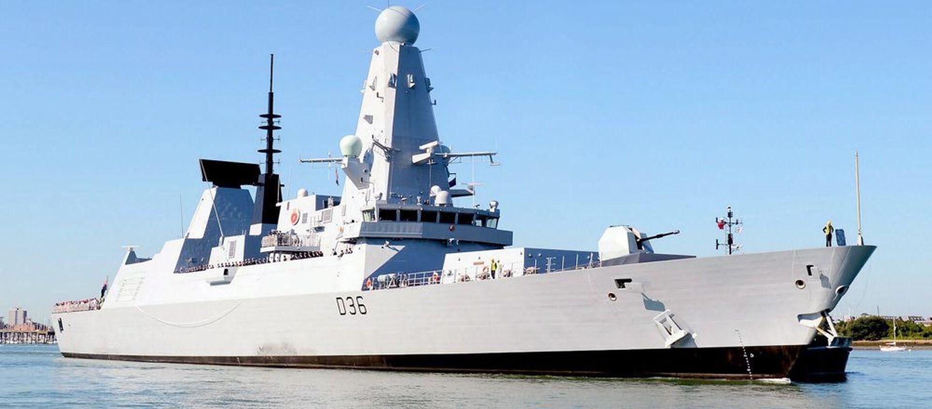 HMS Defender - Sputnik France, 1920, 26.06.2021