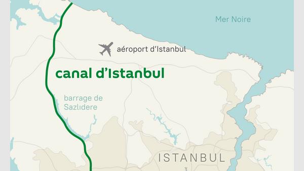 Canal d'Istanbul - Sputnik France