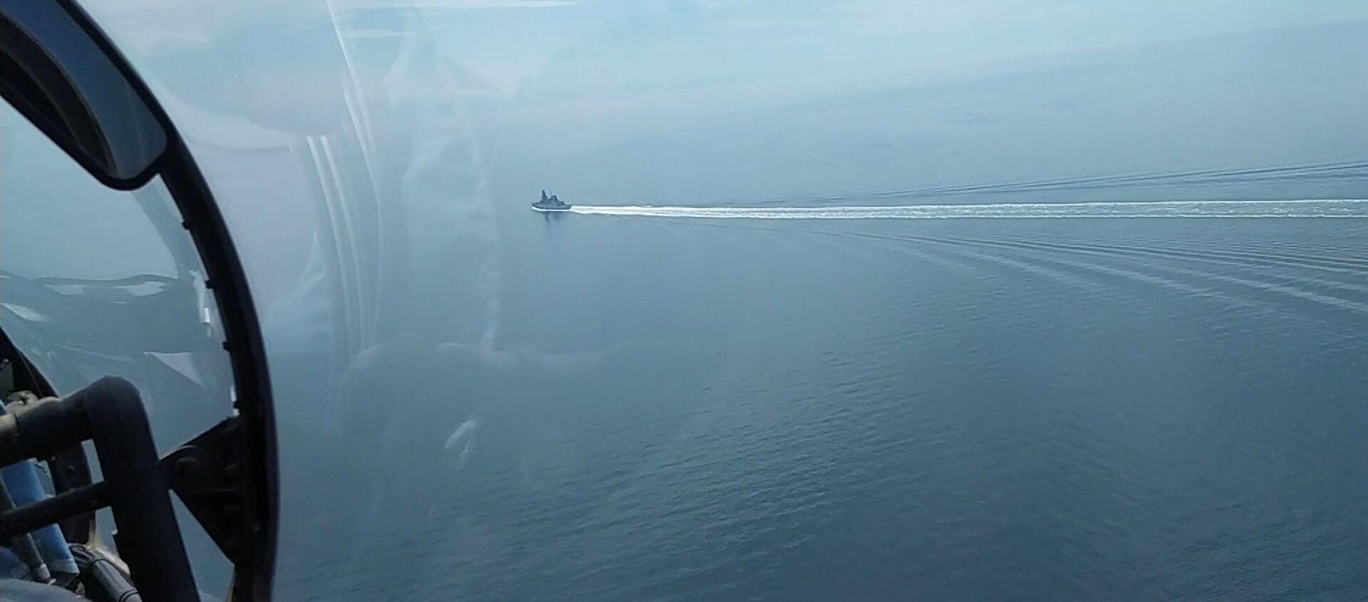 Le 23 juin, le destroyer britannique HMS Defender a traversé la frontière russe - Sputnik France, 1920, 27.06.2021