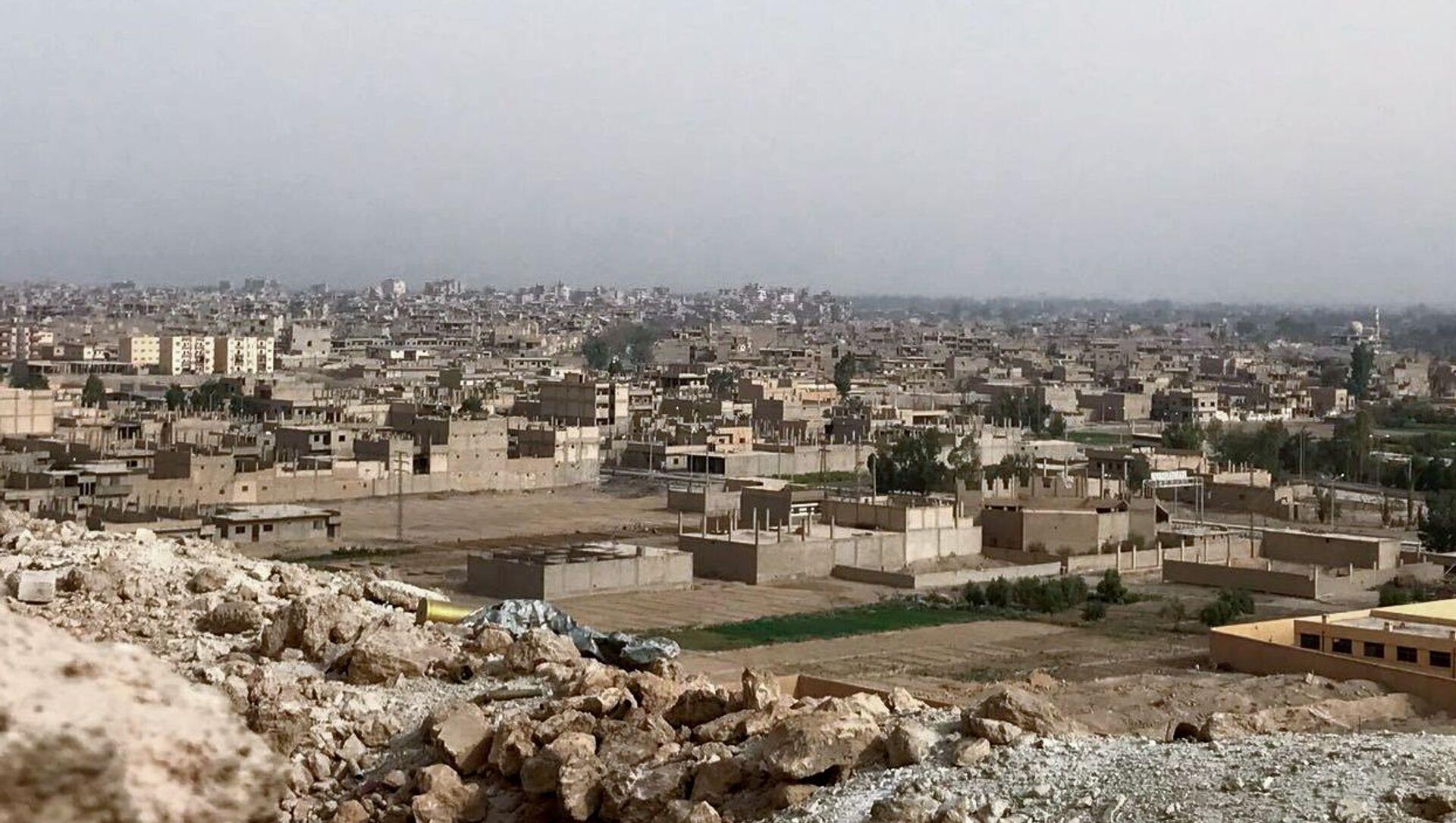 Vue sur la ville de Deir ez-Zor, chef-lieu du gouvernorat homonyme - Sputnik France, 1920, 28.06.2021