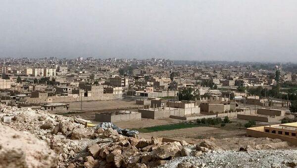 Vue sur la ville de Deir ez-Zor, chef-lieu du gouvernorat homonyme - Sputnik France