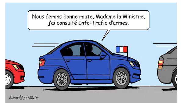 Un chauffeur de Florence Parly mis en examen pour trafic d'armes - Sputnik France