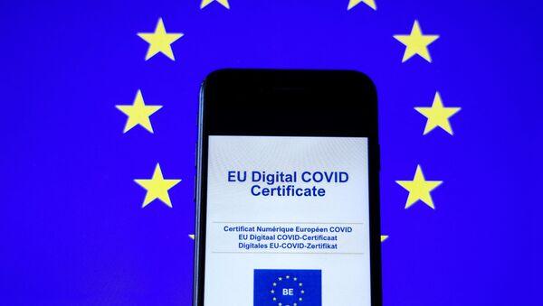 Certificat Covid numérique européen - Sputnik France