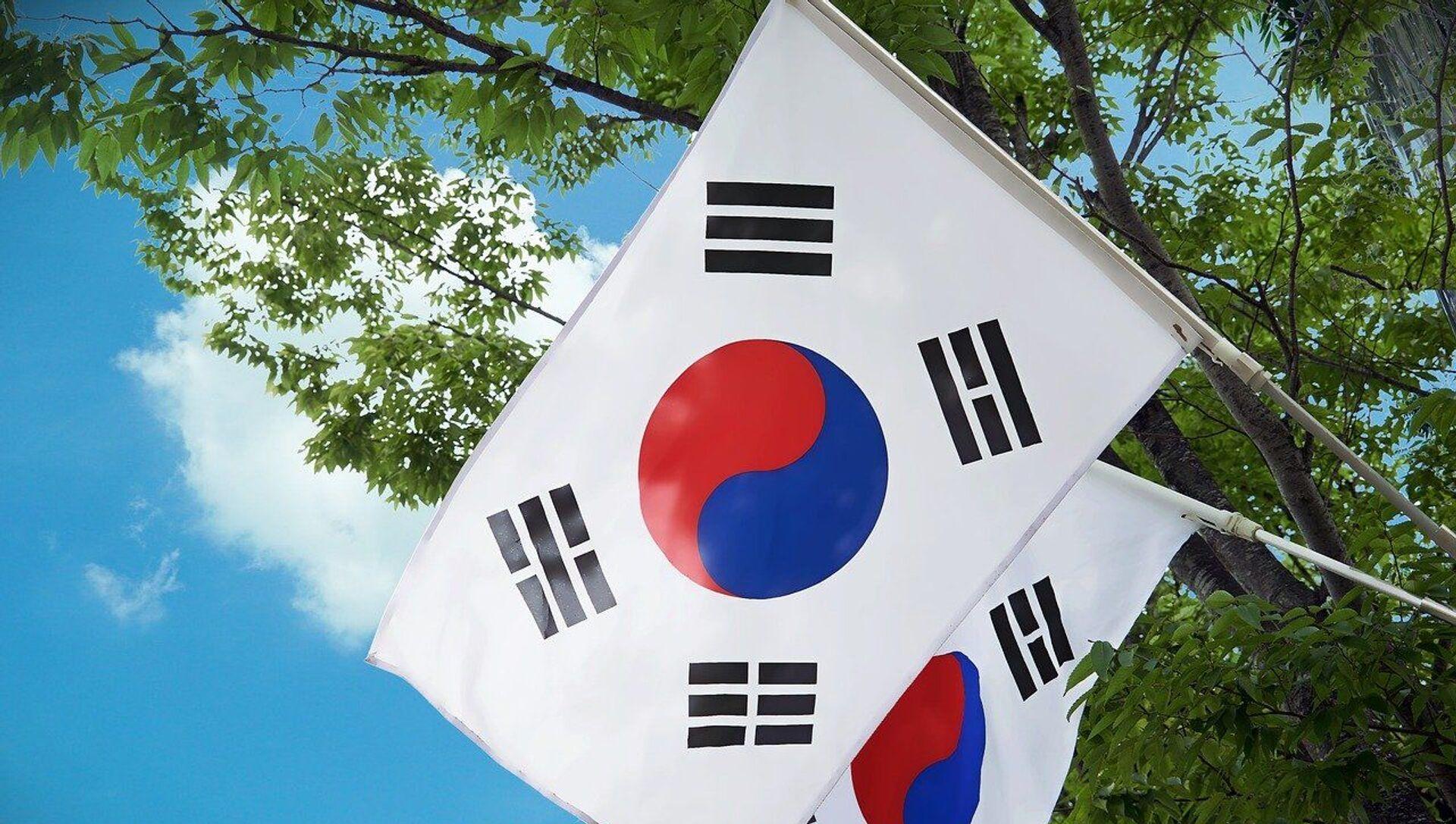 Drapeaux de la Corée du Sud - Sputnik France, 1920, 06.08.2021