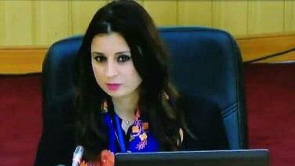 Dr Ryma Rouibi, enseignante- chercheuse à l'Ecole nationale de journalisme et des sciences de l'information d'Alger (ENSJSI) - Sputnik France