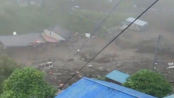 Glissement de terrain à Atami, au Japon - Sputnik France