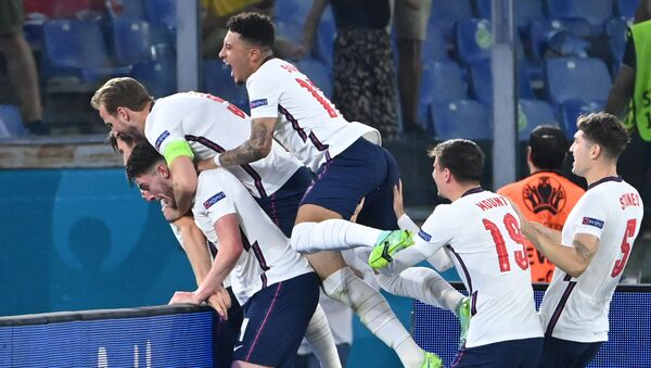 L'équipe d'Angleterre - Sputnik France