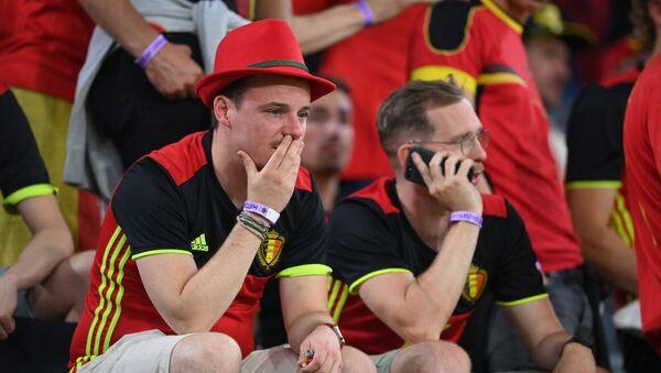 Des supporters belges  - Sputnik France