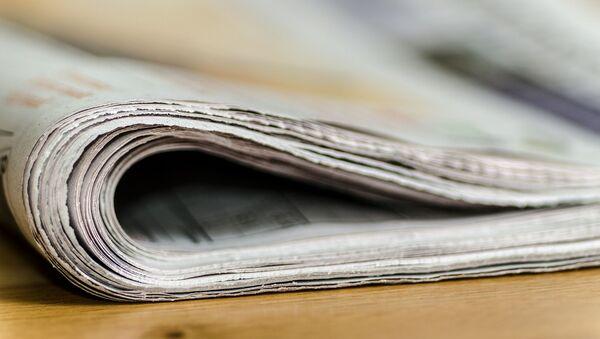 Un journal  - Sputnik France