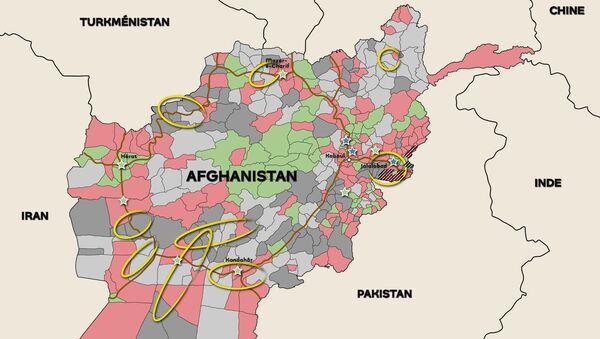 Afghanistan: profitant du retrait occidental, les talibans gagnent du terrain  - Sputnik France