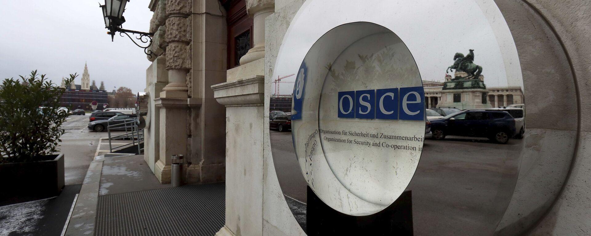 Le palais impérial de la Hofburg à Vienne, siège du Conseil permanent de l'OSCE (archive photo) - Sputnik France, 1920, 06.07.2021