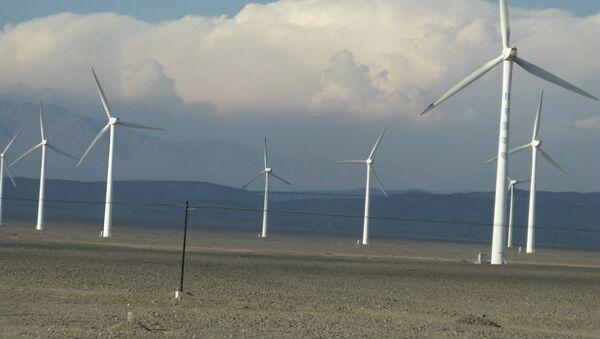 Un parc éolien en Chine (archive photo) - Sputnik France