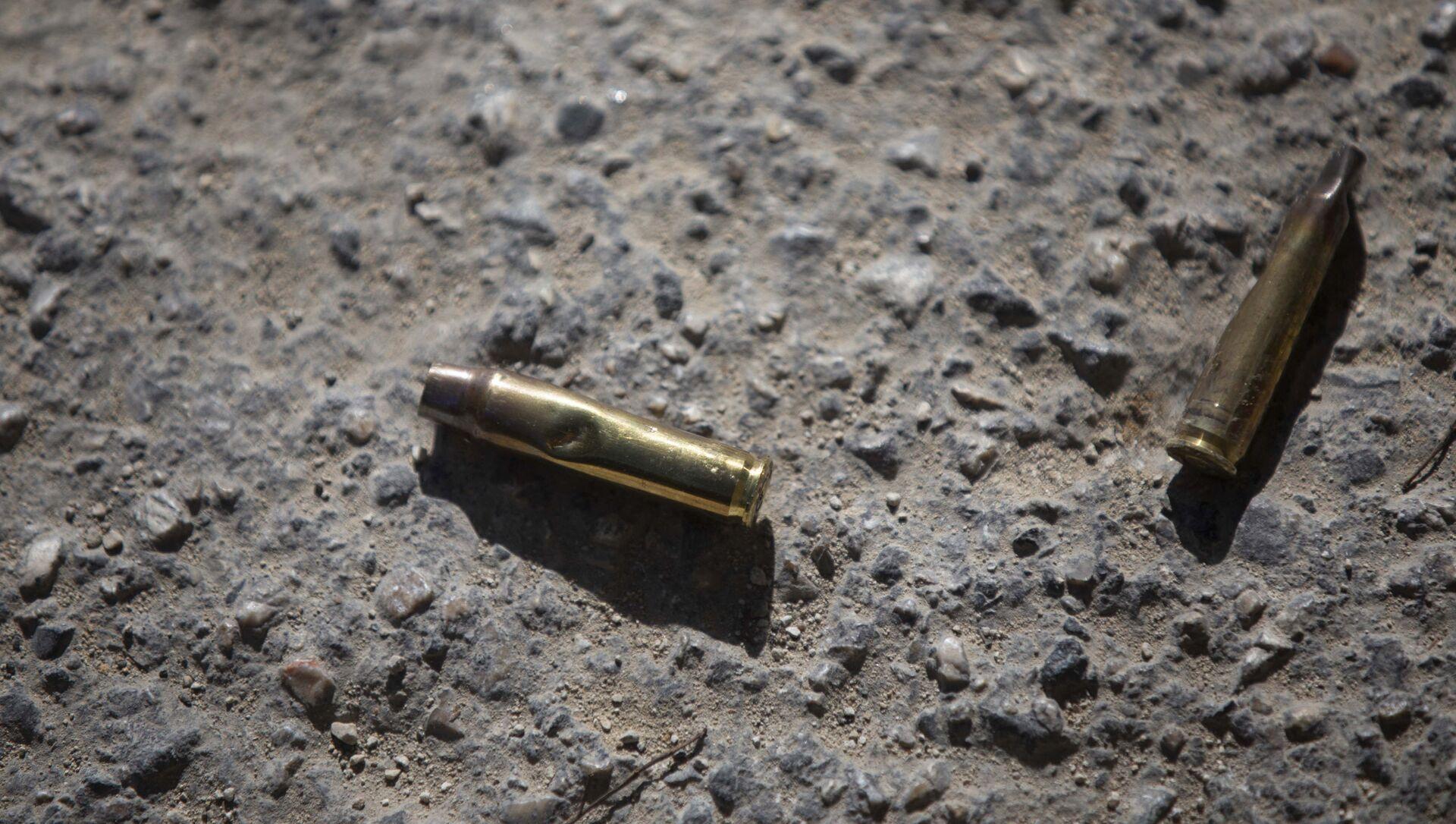 Cartouches de balles retrouvées à l'entrée de la résidence du Président haïtien assassiné - Sputnik France, 1920, 30.07.2021