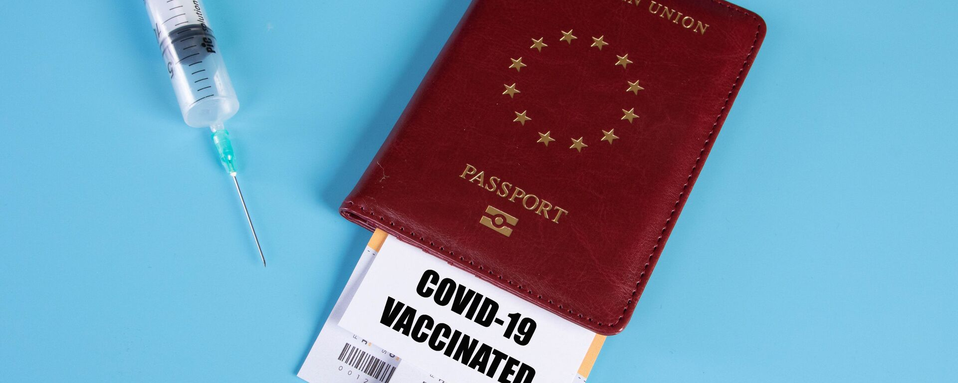 Certificat de vaccination (image d'illustration) - Sputnik France, 1920, 20.07.2021