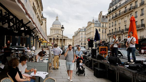 Rue Soufflot, à Paris, le 21 juin 2021 - Sputnik France